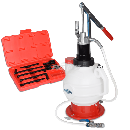 7.5L Manual ATF Dispenser w/ 8 PCS ATF Adapters