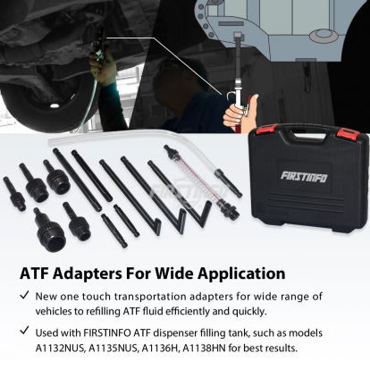 14 PCS ATF Adapters for FIRSTINFO A1132~A1136, A1138 ATF Dispenser