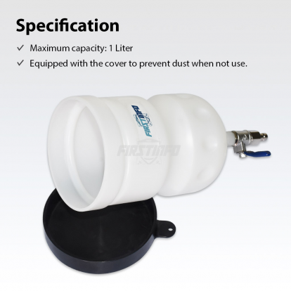1L Manual ATF Funnel w/ Cover & Switch Valve For FIRSTINFO A1132~A1136, A1138 ATF Dispenser