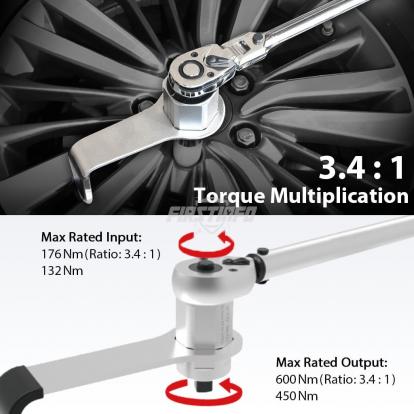 Mini Torque Multiplier (Max Range:600Nm)