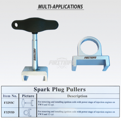 Spark Plug Ignition Coil Removing And Installing Pullers (Packing:20/16/16.5/2')