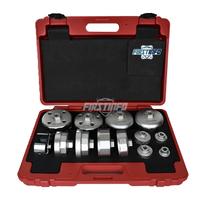 Forged Oil Filter Wrench Set (13 pcs)