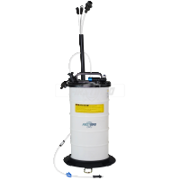 9.5L Pneumatic Oil & Fluid Extractor with Brake Bleeder Hose