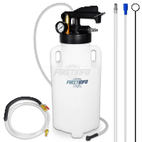 8.5L Pneumatic ATF Dispenser & Extractor w/ Engine Oil Hoses + Break Bleeder Hose