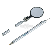 """Telescopic 4 in 1 Magnetic Pick Up & 1-1/2"""" Inspection Round Mirror (Lenght:64cm)"""