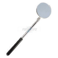 Extendable Telescopic O58mm Inspection Round Mirror (Length:240~370mm)