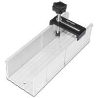 """Aluminum Miter Box 2"""" x 3"""" with Fix Screw for Hand / Manual Saw"""