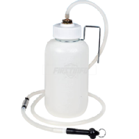 Brake Fluid Bleeder Bottle (with Check Valve)
