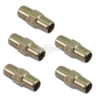 Air Double Male In-line Copper Check Valve