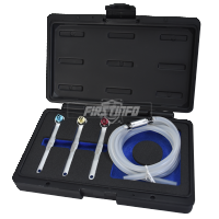 8,10,11 mm Brake Bleeder Wrench  with Check Valve Kit