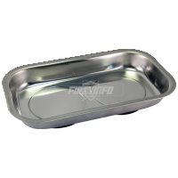 Rectangular Magnetic Stainless Steel Parts Tray (Dim:240x140x43mm Depth:28mm)